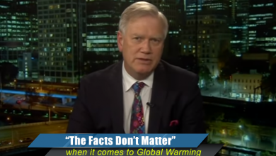 Photo of 'Facts don't matter' with global warming