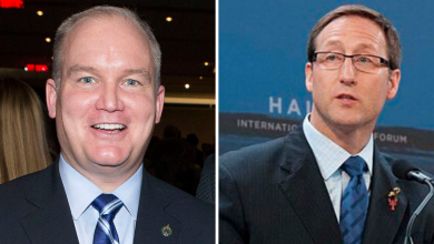 Photo of O'Toole and MacKay launch Conservative leadership campaign