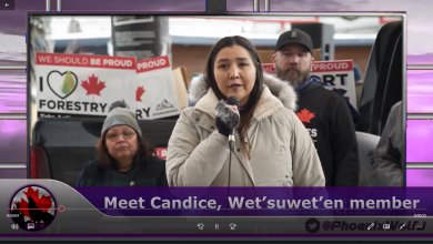 Photo of Protesters do not support the Real Wet'suwet'en people