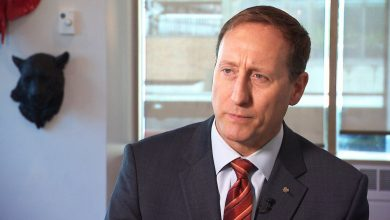 Photo of Peter MacKay bails on interview after being questioned over tweet