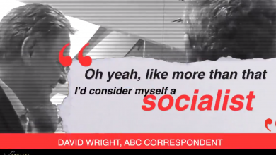 Photo of WATCH: ABC correspondent admits he's a socialist