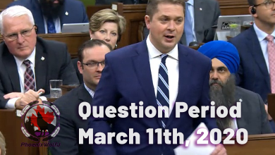 Photo of Question Period – March 11th 2020