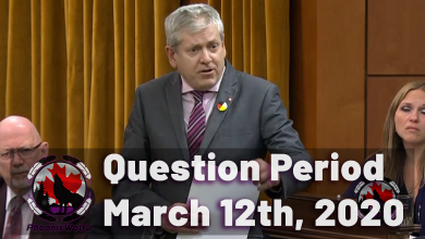 Photo of Question Period – March 12th, 2020