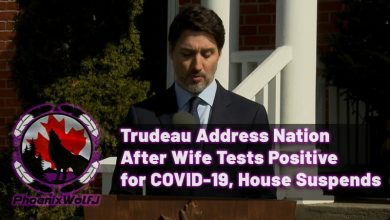 Photo of Trudeau Address Nation After Wife Tests Positive for COVID-19