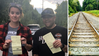 Photo of Alberta couple given tickets for walking on CN land while blockaders get free pass