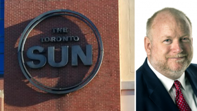 Photo of Editor in chief of Sun chain Mark Towhey 'leaving company effective immediately'
