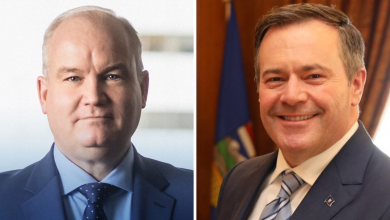 Photo of Jason Kenney endorses Erin O'Toole for Conservative leader