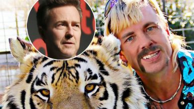 Photo of Dax Shepard & Edward Norton Get Claws Out Over Playing Joe Exotic from Tiger King