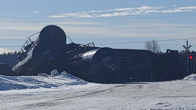 Photo of BREAKING: Train derailment in central BC, school evacuated