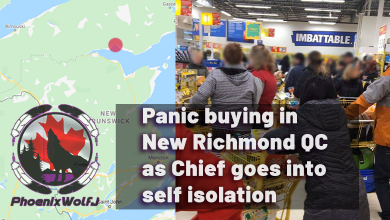 Photo of Panic buying starts in New Richmond QC as Chief goes into self isolation