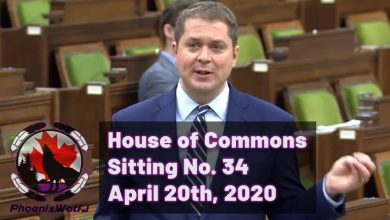 Photo of House of Commons Sitting & Question Period – April 20th 2020