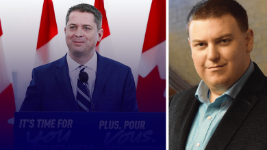 Photo of Andrew Scheer on Trudeau, China and the WHO