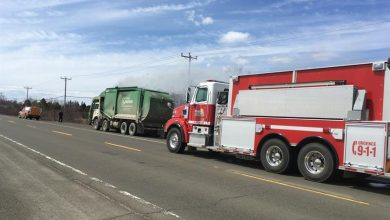 Photo of The contents of a garbage truck catch fire in Maria