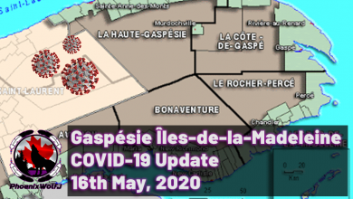 Photo of Gaspésie COVID-19 Update – 16th May 2020