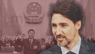 Photo of Justin Trudeau's appeasement of Communist China
