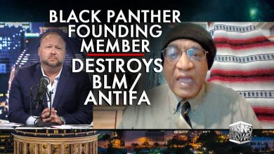 Photo of FOUNDING MEMBER OF BLACK PANTHER PARTY DESTROYS BLM/ANTIFA