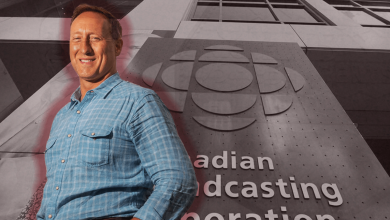 Photo of CBC headlines about MacKay outnumber all other Conservative candidates