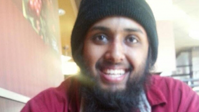 """Photo of """"High risk"""" Canadian terrorist re-arrested after breaching probation conditions"""