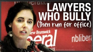 Photo of 'Fight the Fines' bully lawyer running for Liberals in New Brunswick