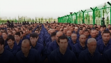 Photo of Satellite evidence reveals up to 400 Uyghur internment camps in Xinjiang province