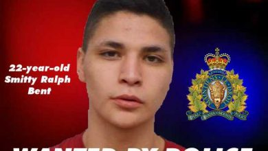 Photo of Canada-wide warrant issued for parolee, 22-year-old Smitty Ralph Bent – Canada Police Report