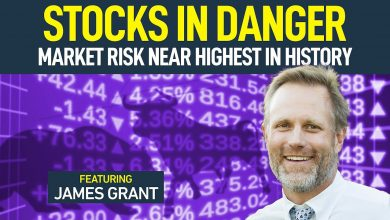 Photo of Market Risk Is Near The Highest In History (featuring James Grant)