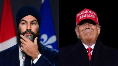 "Photo of Jagmeet Singh criticizes Trump for ""heinous, brazenly wrong"" acts; struggles to condemn China, Turkey"