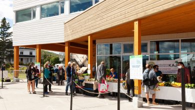 Photo of 2,400 households attended the Gaspé Public Market