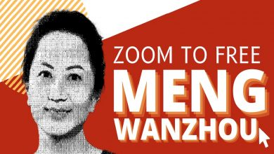 """Photo of """"Free Meng Wanzhou"""" Zoom event to feature NDP, Green Party MPs"""