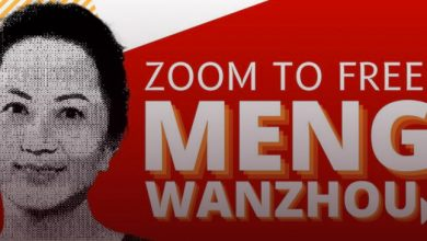 """Photo of NDP, Green MPs to speak at """"Free Meng Wanzhou"""" event"""