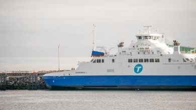 Photo of The Saaremaa I resumes service between Matane and the Côte-Nord