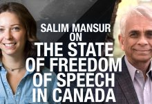 "Photo of ""Once you say there is a limit, there is no free speech"" Prof. Salim Mansur on censorship"