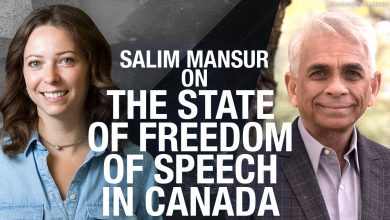 """Photo of """"Once you say there is a limit, there is no free speech"""" Prof. Salim Mansur on censorship"""