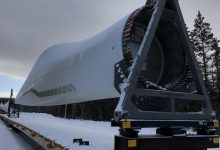 Photo of A large transshipment contract for wind turbine blades escapes Fabrication Delta