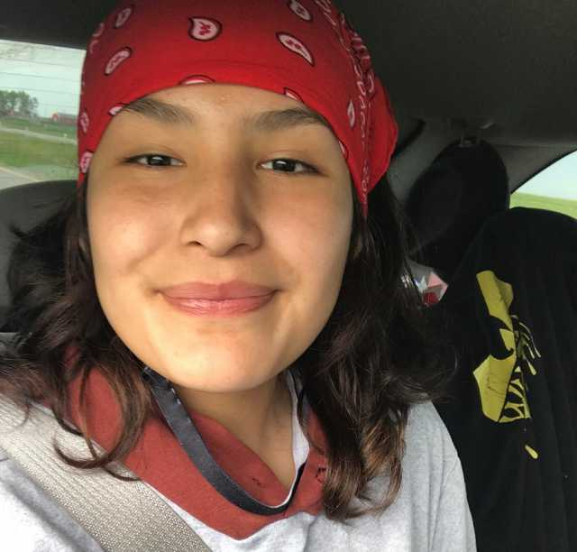 Aaliyah MANYHEADS, 14, was last seen in the community of Erin Woods
