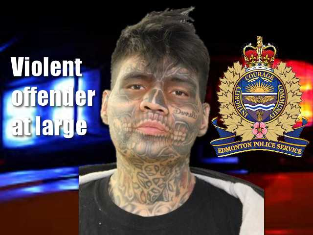 Clint Carifelle, 30, is a dangerous offender who has removed the monitoring ankle bracelet that was placed on him due to his violent tendencies.