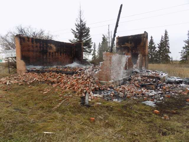 On Oct. 17, 2019 at 6:22 a.m., Vermilion RCMP and the Innisfree Fire Department responded to a fire at a building on Township Road 510 in Minburn, Alta.