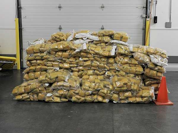 RCMP and CBSA work together to seize tonne of opium being illegally imported into Canada