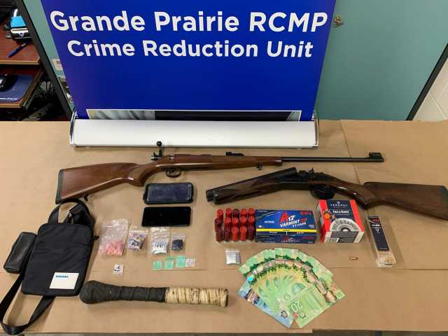 Grande Prairie RCMP Crime Reduction Unit traffic stop leads to arrest and drug seizure