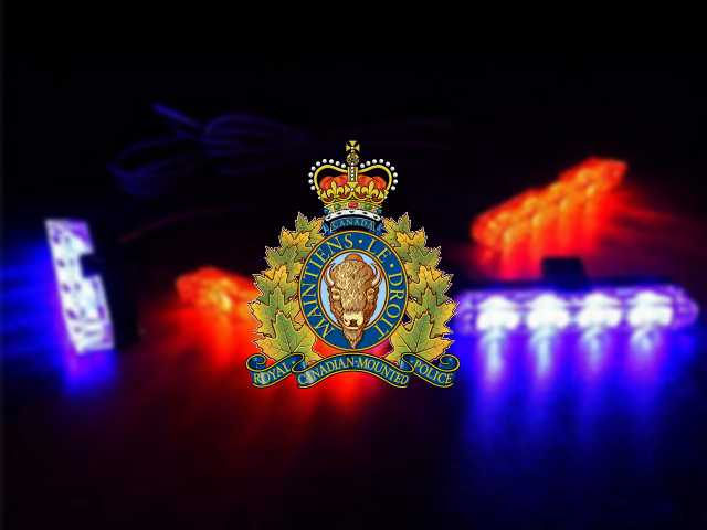RCMP in Trail, BC seek public assistance in locating white truck with red and blue lights in grill