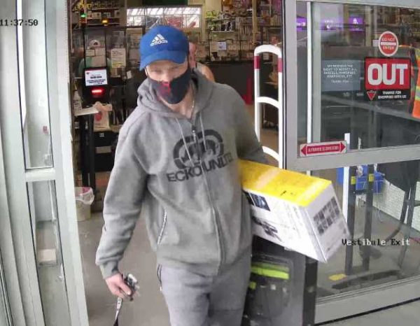 Cold Lake RCMP are seeking assistance from the public in identifying the male pictured from the CCTV footage.